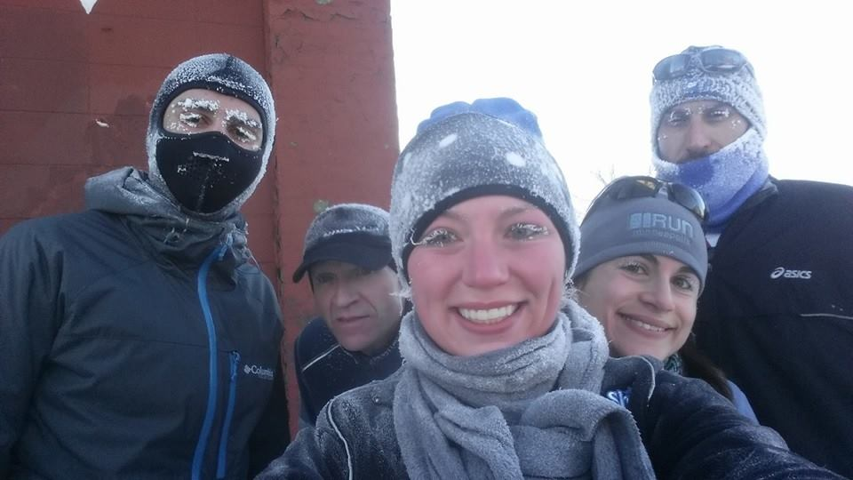 Winter running, winter running!